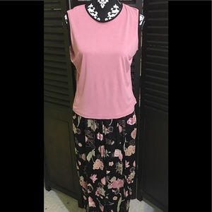 Tank Top and Floral pants set